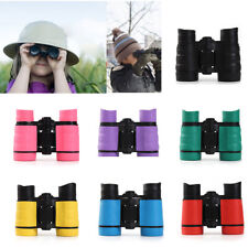 Kids Binoculars 4x30 Adjustable Lightweight Toy Gift for Bird Watching