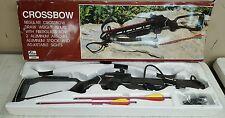 Cobra C496A 150 LB Crossbow w/ 2 Bolts 220 FPS Black Aluminum Stock NIB