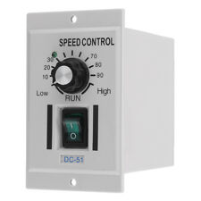 AC 220V To DC 0-90V Rotary Knob Voltage Motor Speed Controller Variable Stepless
