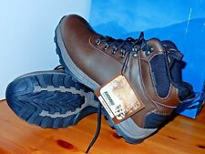 NEW Khombu Men Brown Leather Work Boots Waterproof Hiking Ravine Size 11
