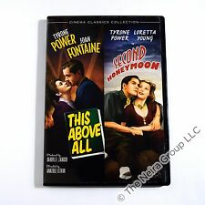 This Above All / Second Honeymoon DVD Tyrone Power, Joan Fontaine, Loretta Young