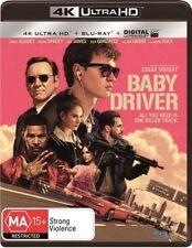 Baby Driver 4K UHD (Blu-ray, 2017, 2-Disc Set) NEW & SEALED