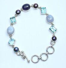 Natural Not Enhanced Topaz Fine Gemstone Bracelets