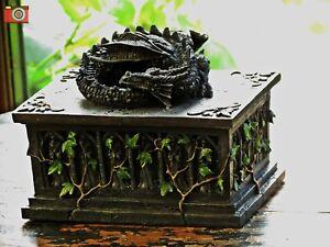 DRAGON TAROT, JEWELLERY & TRINKET BOX. Stunning, Gothic, Mystic. Great Gift