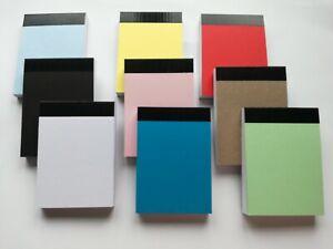 8 PADS A7 PLAIN 80 GSM PAPER MINI JOTTER NOTE MEMO NOTEBOOK 80 SHEETS P/P
