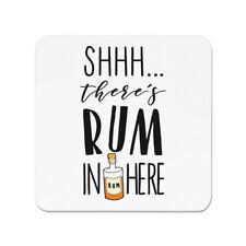 Shhh Es gibt Rum hier Kühlschrankmagnet -Cocktail Party lustig