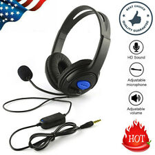 3.5mm Gaming Headset with Mic Headphones Surround For PC Laptop PS4 Xbox One