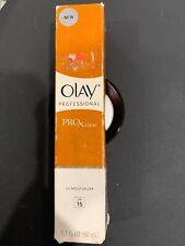 RARE Olay Professional Pro-X Clear UV Moisturizer SPF 15 1.7 fl oz READ BELOW