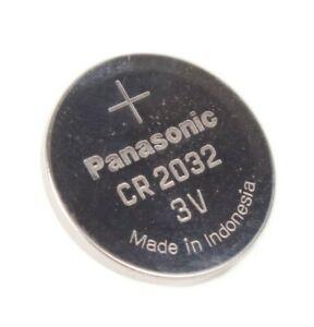 Panasonic Lithum Power CR 2032 3V Batterie Knopfzelle DL2032 ECR2032 GPCR2032