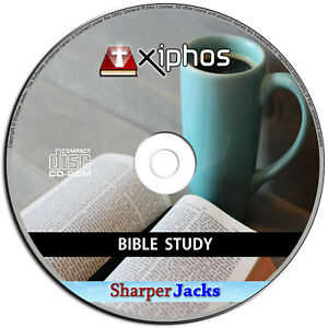 NEW & Fast Ship! Xiphos Bible Study Time Church Worship Educational Software PC