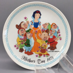 Schmid Walt Disney Snow White 1975 Mother's Day Plate - Limited Edition