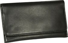 "MARTIN WESS GERMANY ""LEA"" SOFT LAMB NAPPA LEATHER ROLL YOUR OWN TOBACCO POUCH"