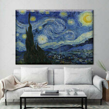 Starry Night by Vincent Van Gogh Oil Painting Reproduction on Canvas
