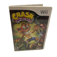 Crash Mind Over Mutant Nintendo Wii Game Complete!
