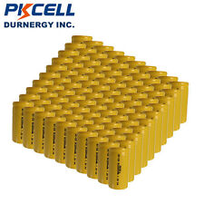100x Sub C 1.2V Genuine SC2200mAh NiCd Rechargeable Battery PKCELL Flat Top