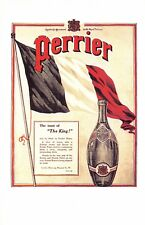 Nostalgia Postcard April 1915 Perrier Advertisement Reproduction Card #N1160