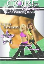 Core Rhythms Cardio BLAST Samba dance workout Exercise Fitness Weight drop DVD