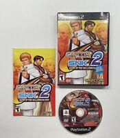 Capcom vs. SNK 2: Mark of the Millennium PlayStation 2) Black Label COMPLETE PS2