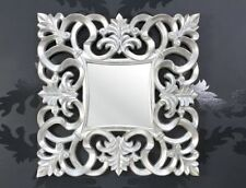 Specchi quadrati in argento in vetro per la decorazione della casa