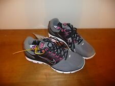 Nike Lunarglide 2 PEK Running Shoe Nano Grey/Black/Pink Flash Sample Mens Size 9