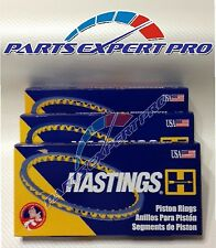 1997-2002 MITSUBISHI MIRAGE NEW HASTINGS PISTON RINGS 1.5LT 4G15