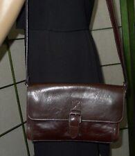 Nice classic  vintage dark brown ALDO cross body leather purse