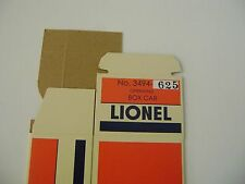 Lionel 3494-6257 SOO LINE  Operating Box Car - Licensed reproduction box