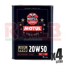 Olio Motore Auto Motul 20W50 Minerale - 4 litri lt