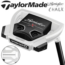 """TAYLORMADE SPIDER X CHALK SMALL SLANT 33"""" PUTTER +HEADCOVER / IN STOCK !!"""