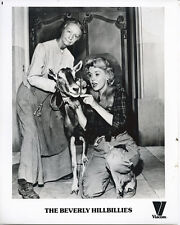 The Beverly Hillbillies original TV photo Irene Ryan Donna Douglas with goat