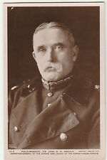Antique WW1 Field Marshall Sir John DP French POSTCARD World War I EARL OF YPRES