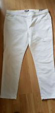 DOROTHY PERKINS  White Stretch Ankle Grazer EDEN Jeans Trousers Jeggings BNWT 20