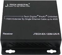 J-Tech Digital ProAV N x N HDMI Extender Matrix Over IP Ethernet 400ft Receiver