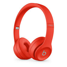 Original Apple BEATS by Dre Solo 3 Wireless On Ear (PRODUCT) RED Rot NEU OVP