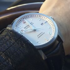 Bremont Solo White Automatic COSC-Certified Chronometer w/ Box & Papers