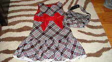TCP THE CHILDREN'S PLACE 3T PLAID DRESS & PURSE LOT