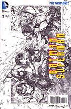 BATMAN SUPERMAN #5 - New 52 - Sketch VARIANT Cover 1:100