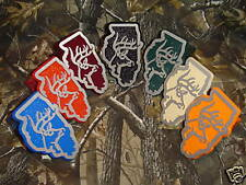 Illinois Deer Truck Hitch Cover Hunting Pin