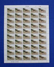 Christmas Island (#122) 1982 Thrush MNH sheet