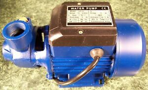 1/2 HP ELECTRIC CENTRIFUGAL WATER PUMP Brand New all metal construction 110 sump