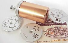 Vintage Mirro Cake Decorating Dial A Cookie Frosting Press