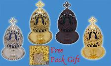 Orthodox Vigil Lamp Theotokos Cup Design + FREE Wicks Ikonenampel Kantili Lampe