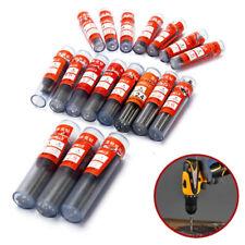 60Pcs 0.5mm-1.2mm Micro HSS Twist Grinding Drill Bits Steel Set Tool Shank