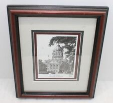 John Stoeckley Signed Print Jesse Hall University Of Missouri Framed Print #2