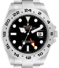 Rolex Explorer II Stainless Steel Black Dial Mens 42mm Automatic Watch 216570