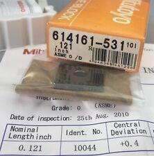 Mitutoyo 614161 531 Square Gage Block 0121 Asme 0 Withcertificatemachinist