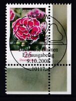 BRD 2008 gestempelt ESST MiNr. 2694  Freimarke Blumen Gartennelke