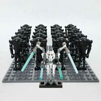 Star Wars 21pcs Droid Army With General Grievous Fits Lego UK Seller