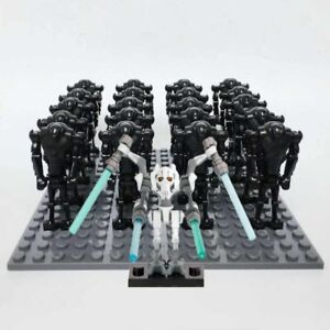 Star Wars 21pc Droid Army With General Grievous Compatible With Brands UK Seller