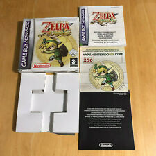 Nintendo GameBoy BOX + MANUAL Only - The Legend of Zelda The Minish Cap